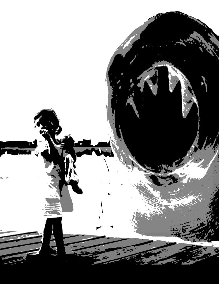 Uncertain Bravery, 2009 Screen print on paper