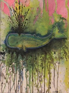 PETROLEOCEAN Acrylic on canvas $10.00